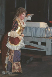 Josephine as Princess Puffer circa 1998