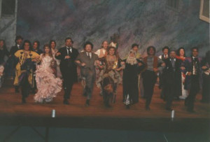 Josephine center as Puffer in Drood